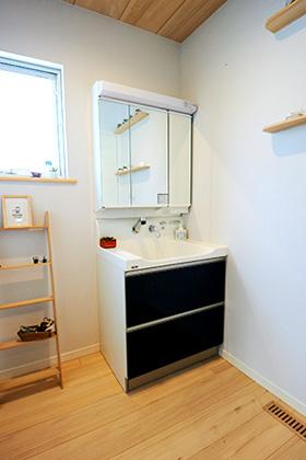 洗面スペース - もみの木ハウス・かごしま
