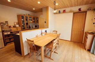 ダイニングキッチン - もみの木ハウス・かごしま