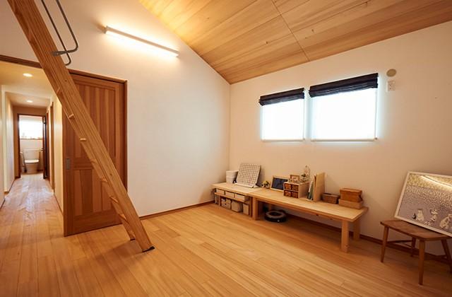 主寝室 - もみの木ハウス・かごしま