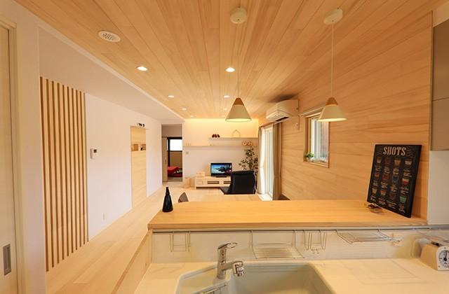 LDK - もみの木ハウス・かごしま 建築事例