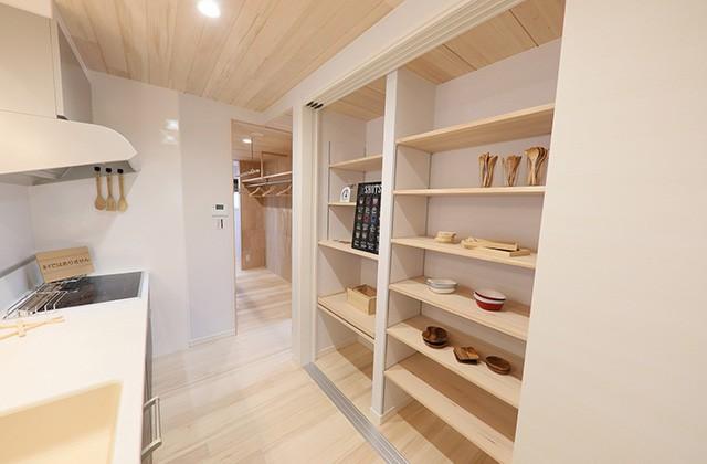 おてき収納 - もみの木ハウス・かごしま 建築事例