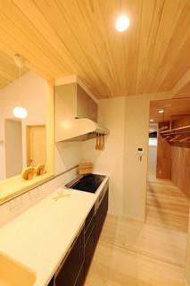 キッチン - もみの木ハウス・かごしま 建築事例