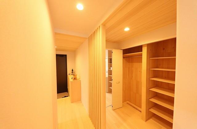 お着替えクローゼット - もみの木ハウス・かごしま 建築事例