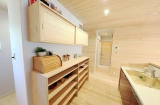 家事動線 - もみの木ハウス・かごしま 建築事例