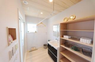 洗面所 - もみの木ハウス・かごしま 建築事例