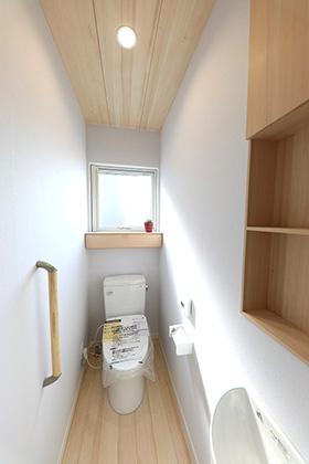 トイレ - もみの木ハウス・かごしま 建築事例