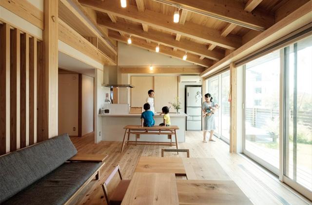 開放的な空間で四季を感じられる理想の平屋 - 建築実例 - MOOK HOUSE