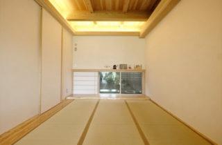 和室 - 開放的な空間で四季を感じられる理想の平屋 - 建築実例 - MOOK HOUSE