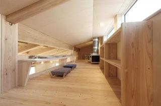 ロフト - 開放的な空間で四季を感じられる理想の平屋 - 建築実例 - MOOK HOUSE