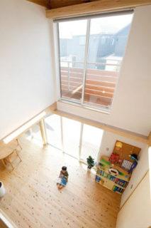 吹き抜け - 自然とつながる開放的かつ快適な2階建ての家 - 建築実例 - MOOK HOUSE