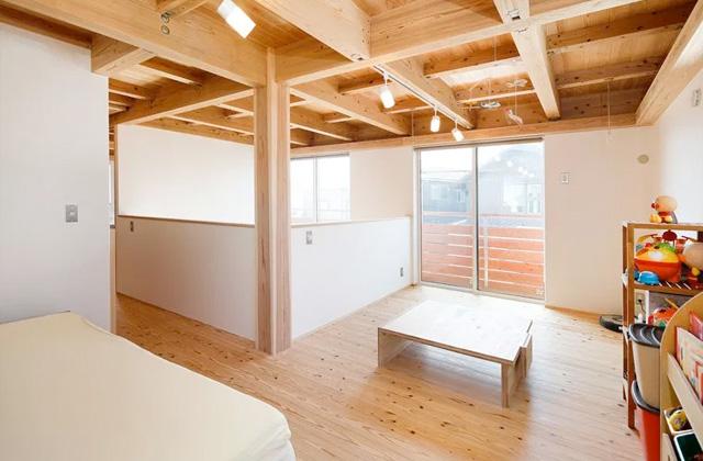 居室 - 自然とつながる開放的かつ快適な2階建ての家 - 建築実例 - MOOK HOUSE