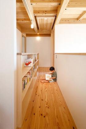 廊下 - 自然とつながる開放的かつ快適な2階建ての家 - 建築実例 - MOOK HOUSE