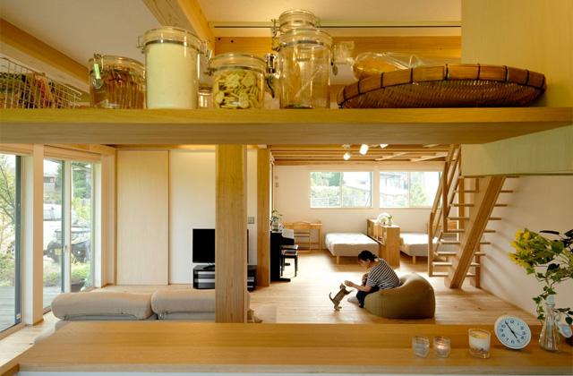 木のぬくもりが安らぎを生み出すオープンな住まい - 建築実例 - MOOK HOUSE