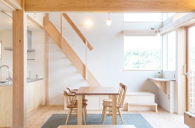 のびやかな眺望から桜島を愉しむ住まい - 建築実例 - MOOK HOUSE