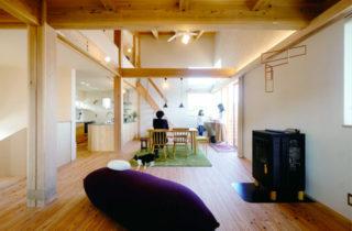 LDK - のびやかな眺望から桜島を愉しむ住まい - 建築実例 - MOOK HOUSE
