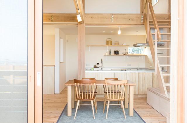 ダイニング - のびやかな眺望から桜島を愉しむ住まい - 建築実例 - MOOK HOUSE