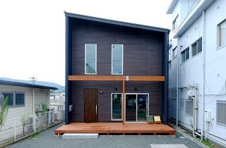 外観 - 建築事例 中池組 土間リビングの家