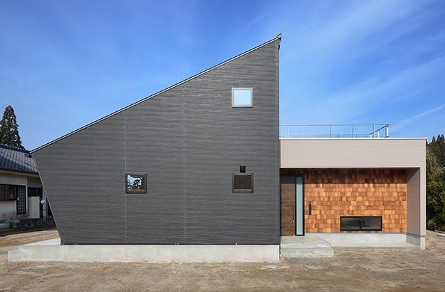 建築事例 中池組 楽しいご夫婦が暮らす優しくてかっこいい家