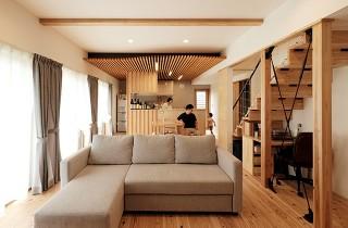 LDK - 建築事例 中池組 楽しいご夫婦が暮らす優しくてかっこいい家