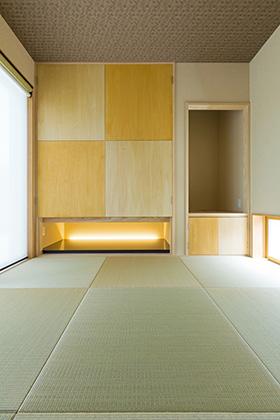 和室 - 建築事例 中池組 楽しいご夫婦が暮らす優しくてかっこいい家