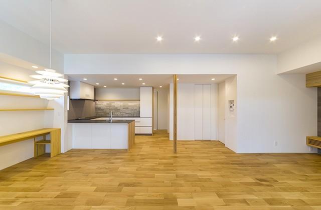 建築事例 中池組 シンプルなデザインの中にセンスの光る住宅