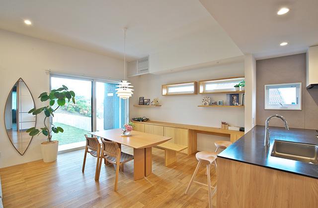 ワークスペース - シンプルなデザインの中にセンスが光る家 - 建築事例 - 中池組