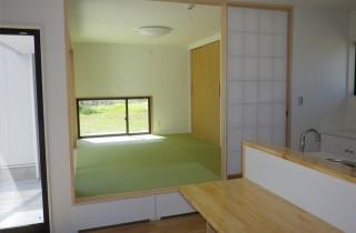 成尾建設/R+house鹿児島中央 建築事例 和室