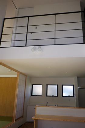 成尾建設/R+house鹿児島中央 建築事例 吹抜け