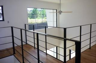 成尾建設/R+house鹿児島中央 建築事例 廊下