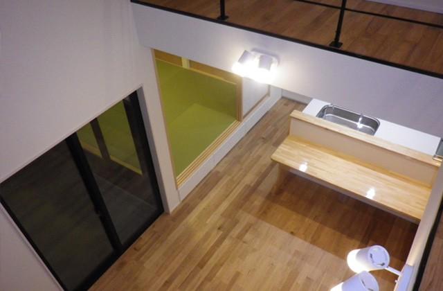 成尾建設/R+house鹿児島中央 建築事例 リビング