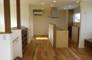 成尾建設/R+house鹿児島中央 建築事例  キッチン