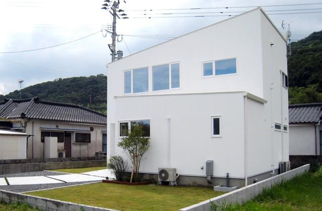 成尾建設/R+house鹿児島中央 建築事例 眺めのいい家 外観