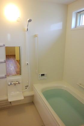 成尾建設/R+house鹿児島中央 建築事例 眺めのいい家 バスルーム