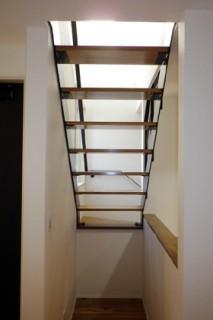 成尾建設/R+house鹿児島中央 建築事例  階段
