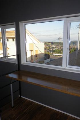 成尾建設/R+house鹿児島中央 建築事例  書斎