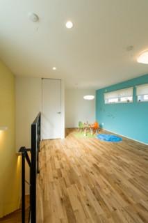 キッズルーム- 施工事例 - 成尾建設/R+house鹿児島中央