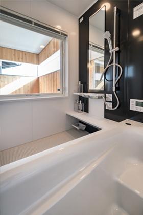 バスルーム- 施工事例 - 成尾建設/R+house鹿児島中央