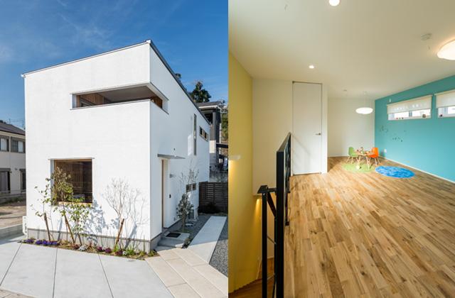 長期優良住宅の基準を遥かに上回る性能「R+house 不思議な箱の家」