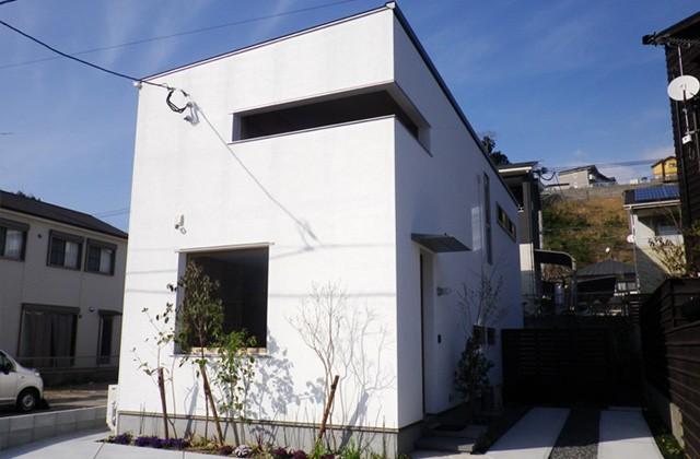 成尾建設 アトリエ建築家とつくる高性能デザイナーズ住宅「R+house 不思議な箱の家」