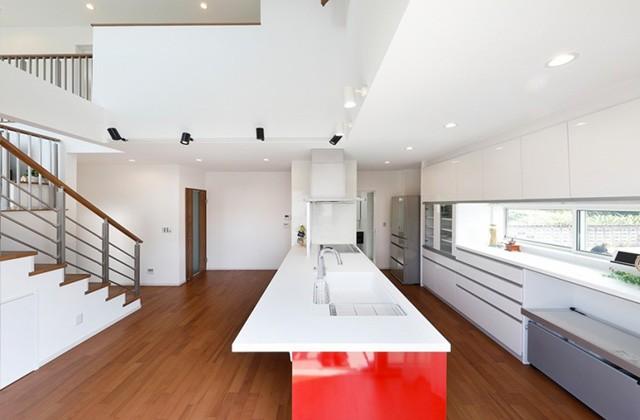 ロイヤルホーム 建築事例 ダイニングキッチン