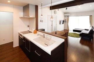 ロイヤルホーム 建築事例 キッチン