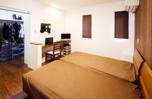 ロイヤルホーム 建築事例 寝室
