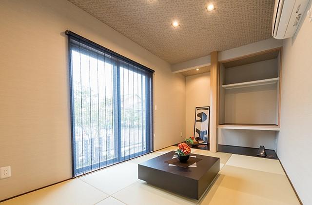 和室 - MBC国分住宅展モデルハウス「地震に強いテクノストラクチャー工法の3つのゆとりを体感できる家」(霧島市)