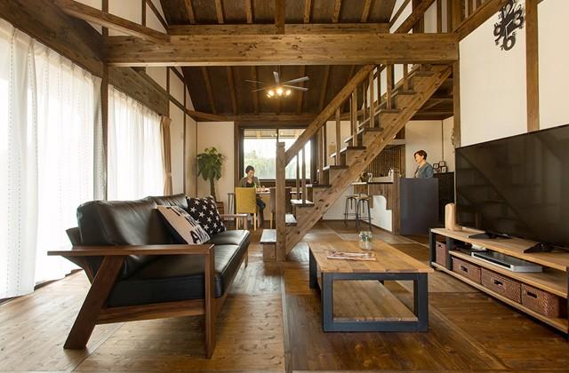 サイエンスホーム鹿児島店 建築実例 ラグジュアリー感ある平屋で上質な自然素材の持ち味を楽しむ家