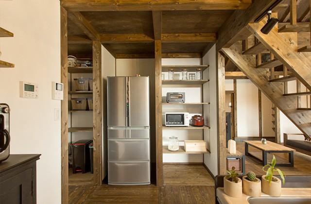 収納スペース - サイエンスホーム鹿児島店 建築実例