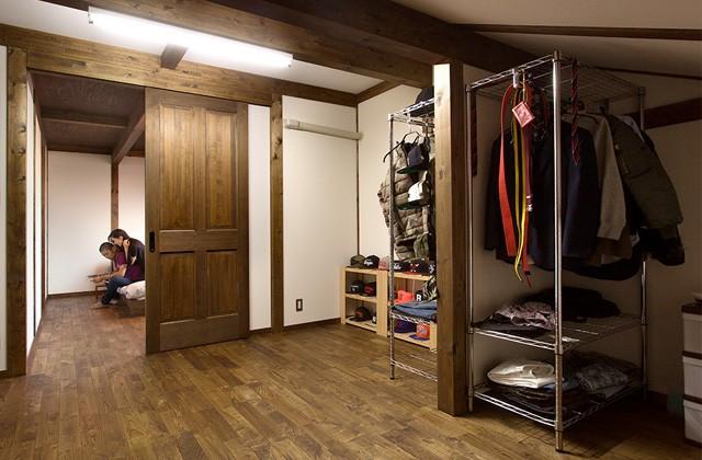 寝室収納 - サイエンスホーム鹿児島店 建築実例