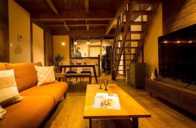 二世帯の領域を上手に分けて気兼ねなく暮らす二世帯の家 - サイエンスホーム鹿児島店 建築実例