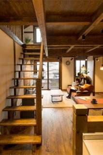 リビング階段 - サイエンスホーム鹿児島店 建築実例