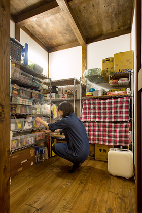 パントリー - サイエンスホーム鹿児島店 建築実例
