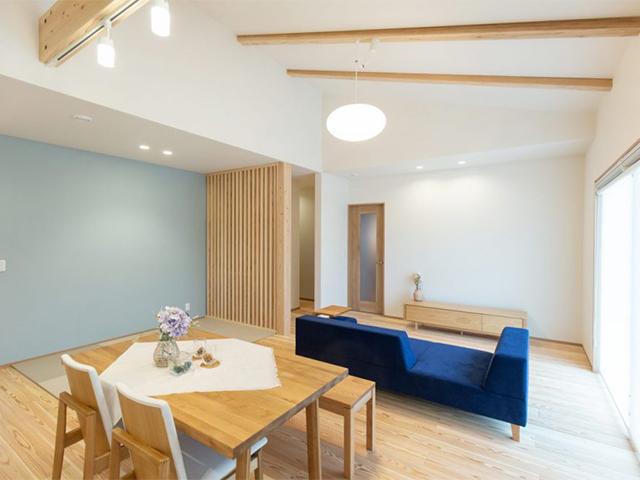 国分府中モデルハウス「平屋3LDK+ユーティリティスペースのニューノーマルを楽しむ家~お家時間を快適に過ごす暮らし~」(霧島市)-SELECTINO